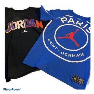 Air Jordan Bnwt 2 boys medium t-shirts